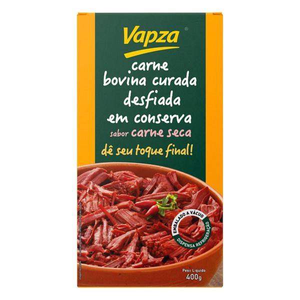 Carne Bovina Desfiada Cozida Curada Carne Seca Vapza 400g