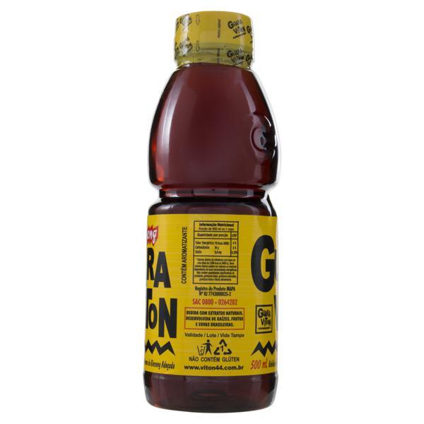 Bebida Guaraná e Ginseng Guaraviton Garrafa 500ml