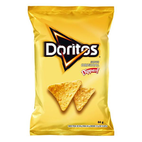 Salgadinho Elma Chips Doritos Sabor Original Dippas 84g