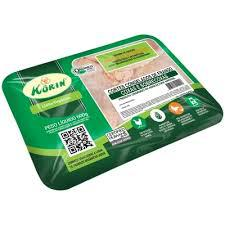 Sobrecoxa de frango Korin 600g - linha orgânica