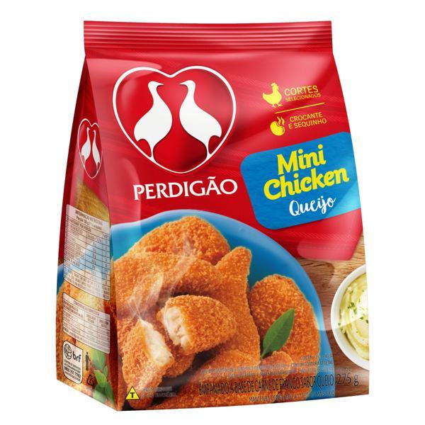 Empanado de Frango Queijo Perdigão Mini Chicken Pacote 275g