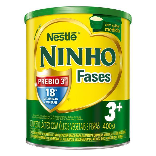 Composto Lácteo Nestlé Ninho Fases 3+ Lata 400g