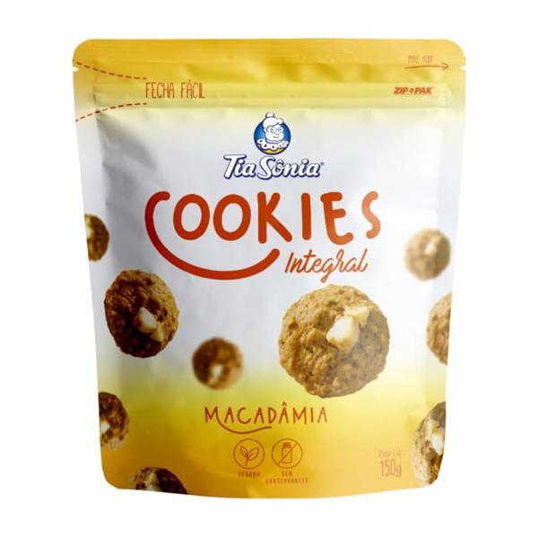 Biscoito Cookies Tia Sônia 150G Macadâmia