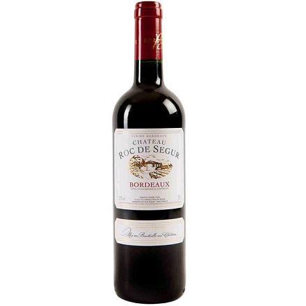 Vinho Francês Chateau Roc De Segur Bordeaux Tinto 750ml