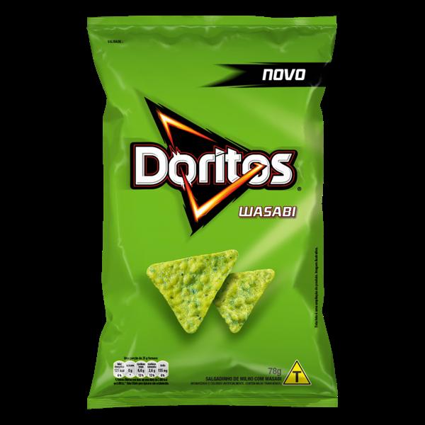 Salgadinho Elma Chips 78G Doritos Wasabi
