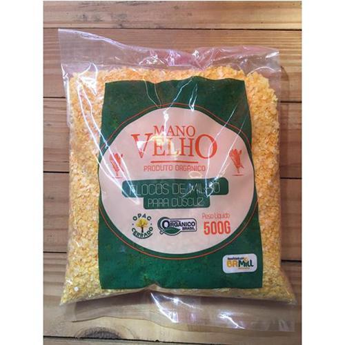 Flocos de Milho Orgânico 500g MANO VELHO