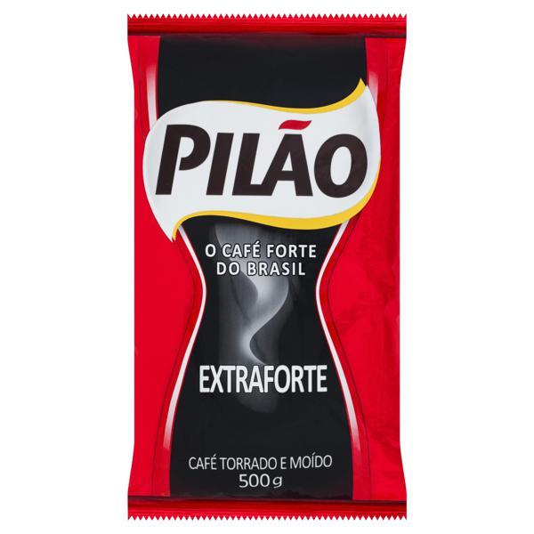 Café Torrado e Moído Extraforte Pilão Pacote 500g