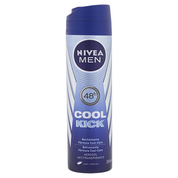 Antitranspirante Aerossol Nivea Men Cool Kick 150ml