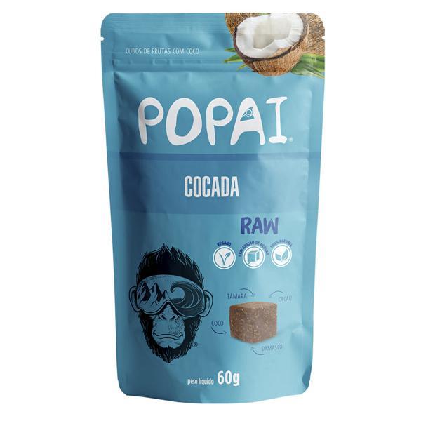 Snack Vegano de Cocada 60g - Popai