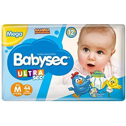 Fralda Babysec Xxg 30Un Ultrasec