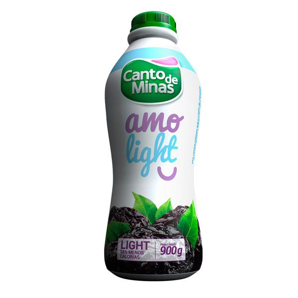 Iogurte Canto De Minas Ameixa Light 900Ml