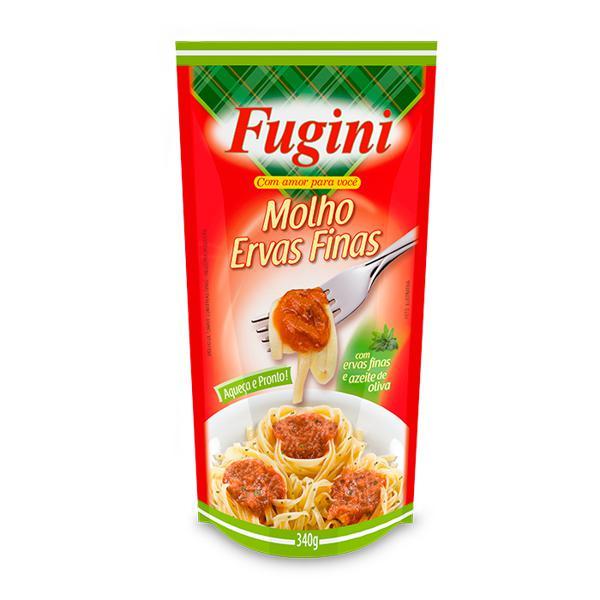 Molho de Tomate FUGINI Ervas Finas Sachê 340g
