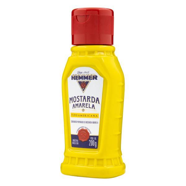 Mostarda Amarela Americana Hemmer Squeeze 200g