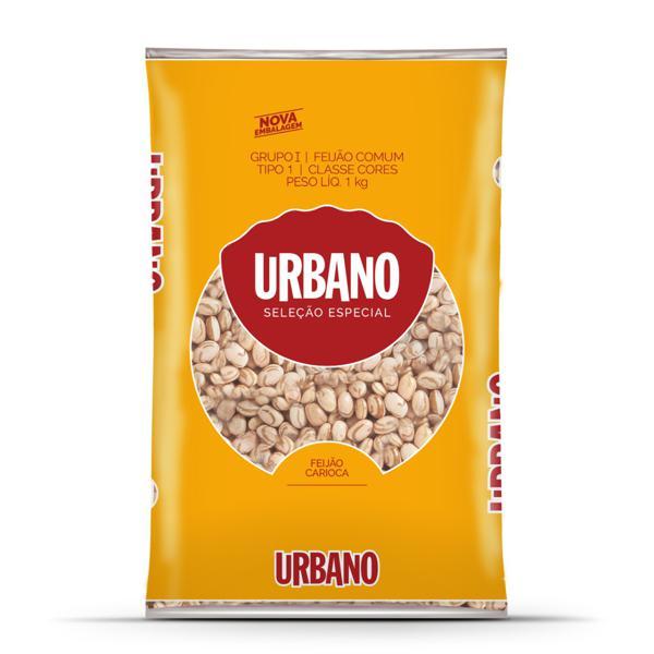 Feijão Carioca Tipo 1 Urbano Seleção Especial Pacote 1kg