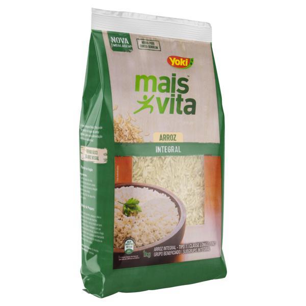 Arroz Tipo 1 Integral Yoki Mais Vita Pacote 1kg