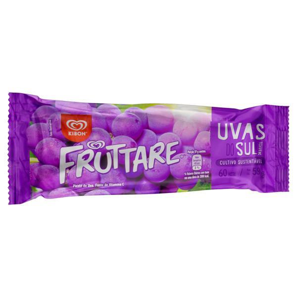 Picolé Uva Kibon Fruttare Pacote 59g