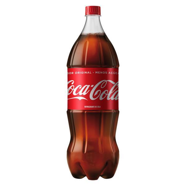 Refrigerante Menos Açúcar Coca-Cola Garrafa 2l