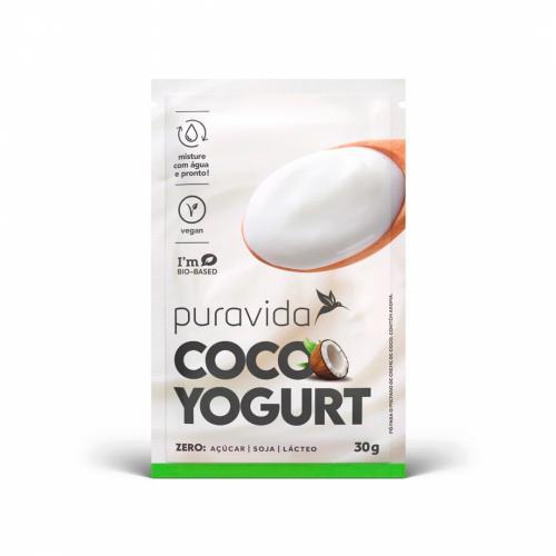 Cocoyogurt Vegano Natural 30g - Puravida