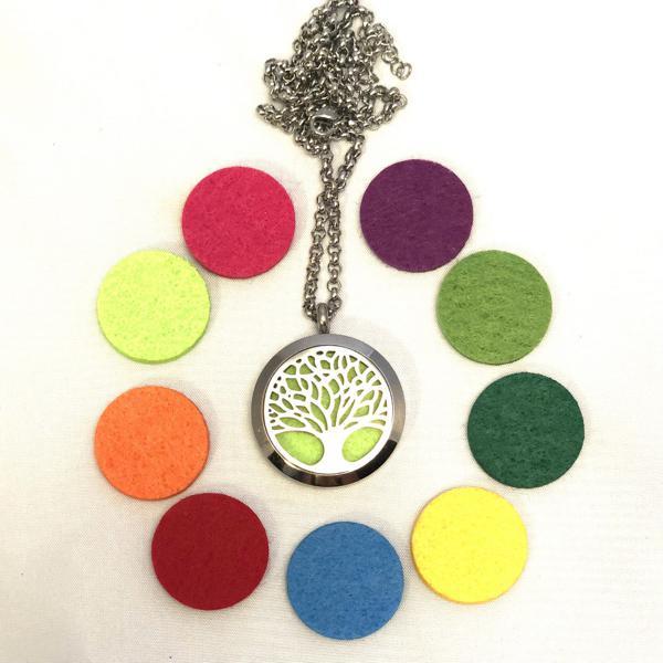 Colar Aromatizador Árvore da Vida Para Sinergias Em Óleo