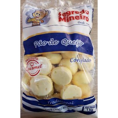 Pão de Queijo Congelado Segredo Mineiro 1Kg