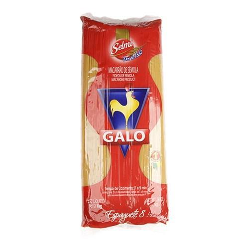 Macarrão Espaguete Nº8 GALO 1Kg