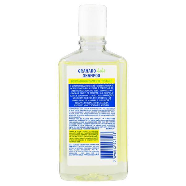 Shampoo Granado Bebê Frasco 250ml
