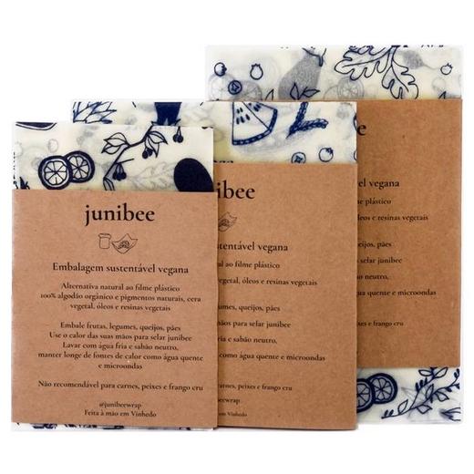Paninhos de algodão Kit com 3 - Junibee