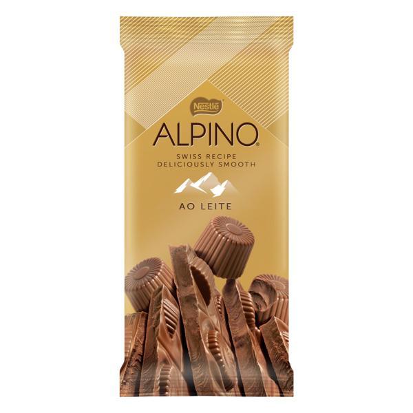 Chocolate ao Leite Alpino 90g