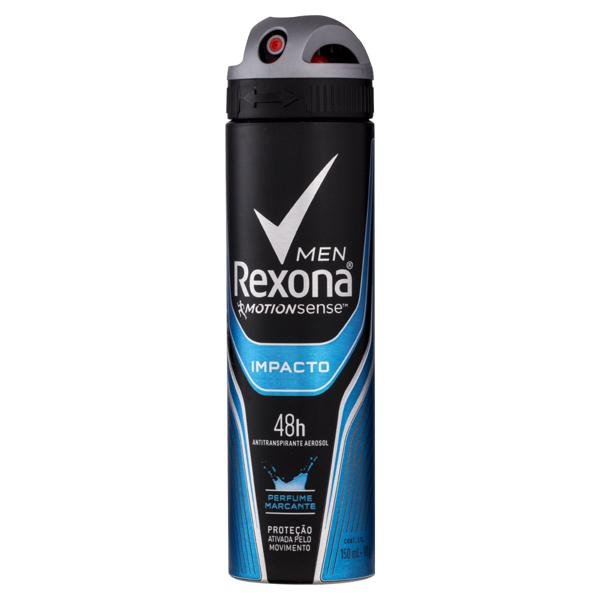 Antitranspirante Aerossol Impacto Rexona Men Motionsense 150ml