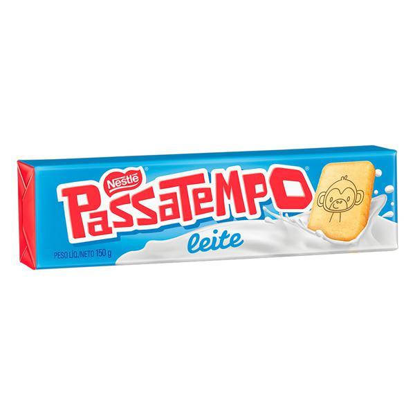 Biscoito Leite Nestlé Passatempo Pacote 150g