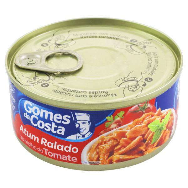 Atum Ralado ao Molho de Tomate Gomes da Costa Lata 140g