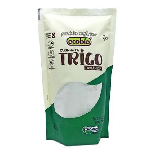 Farinha de trigo branca orgânica 500g - Ecobio
