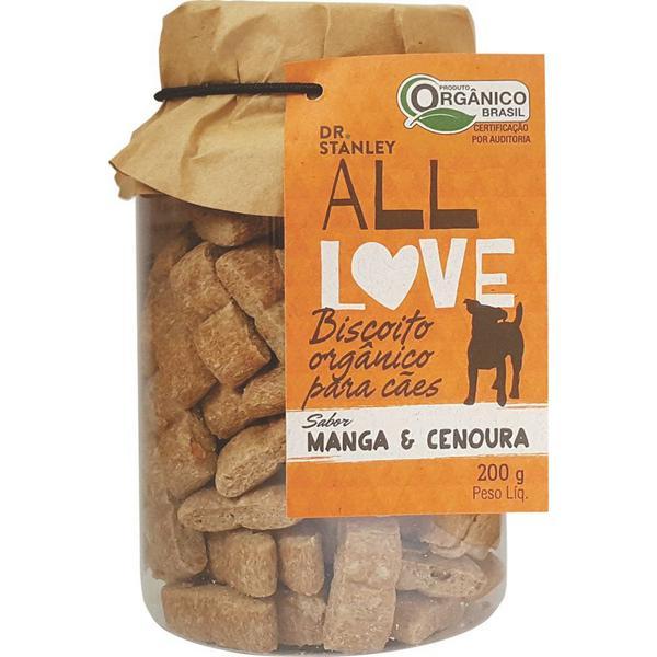 Biscoito Orgânico Para Cães Manga & Cenoura 200g - Dr. Stanley
