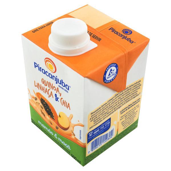 Bebida Láctea UHT Mamão e Maçã Piracanjuba Caixa 500ml