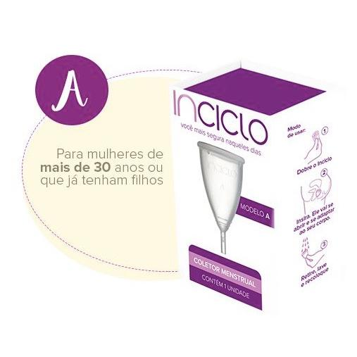 Coletor menstrual modelo A - Inciclo