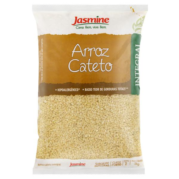 Arroz Cateto Tipo 2 Integral Jasmine Pacote 1Kg
