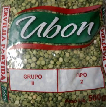 Ervilha Verde Ubon Partida Tp 2 500G Pacote