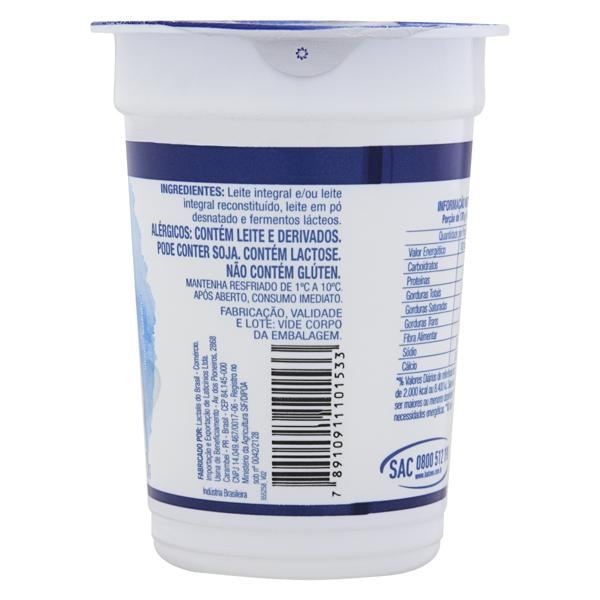Iogurte Integral Batavo Naturais Pote 170g