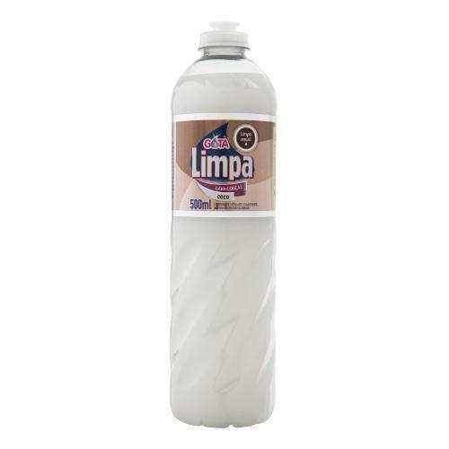 Detergente Gota Limpa 500Ml Coco