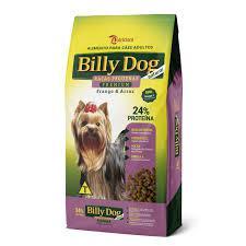 Racao Billy Dog PREMIUM RAÇAS PEQUENAS  8Kg 24% Proteina
