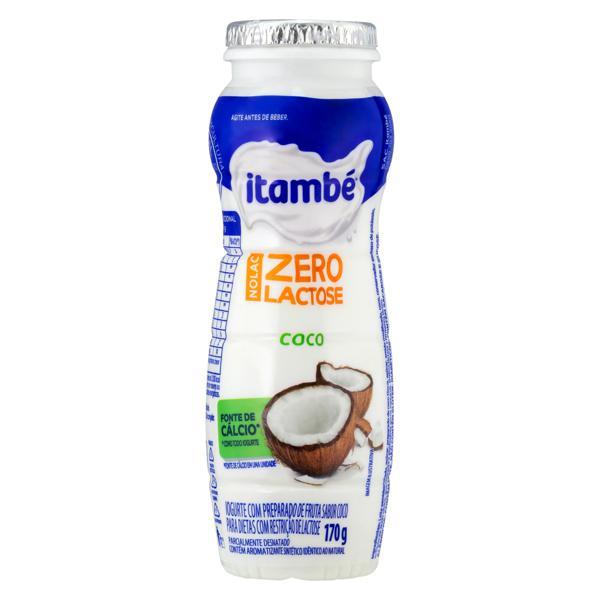 Iogurte Parcialmente Desnatado Coco Zero Lactose Itambé Nolac 170g