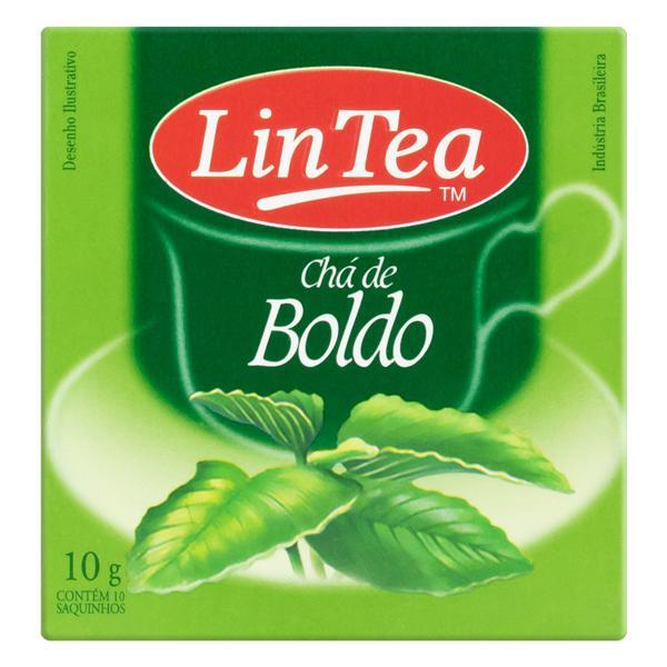 Chá Boldo Lin Tea Caixa 10g 10 Unidades