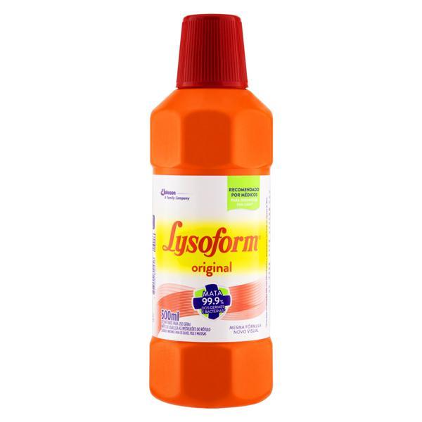 Desinfetante Uso Geral Original Lysoform Frasco 500ml