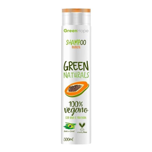 Shampoo GREEN HOPE Vegano Papaya 300mL