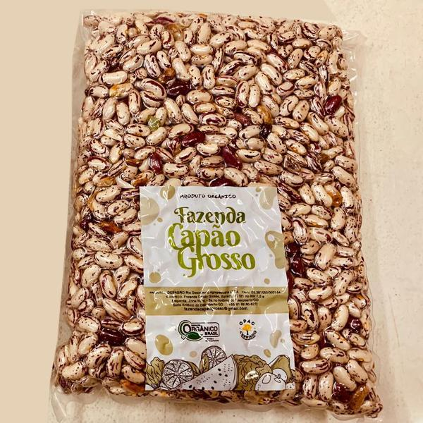 Feijão jalo orgânico (1kg)