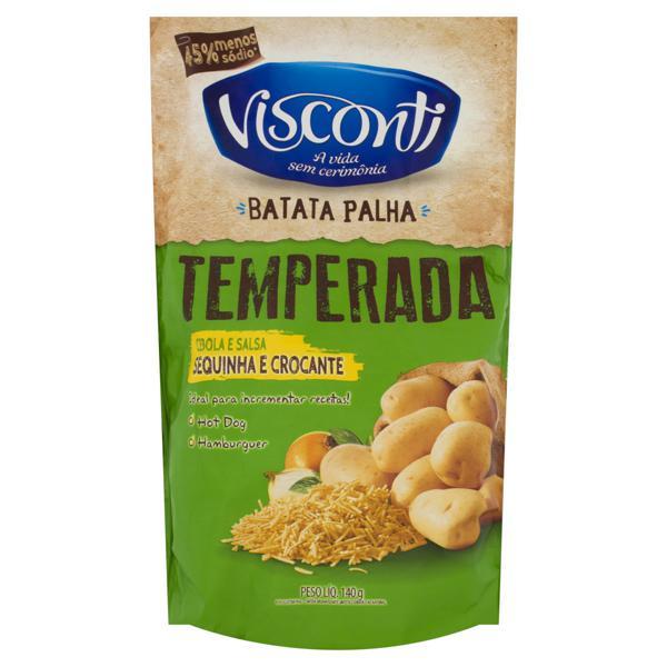 Batata Palha Cebola e Salsa Visconti Sachê 140g