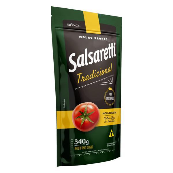 Molho de Tomate Tradicional Salsaretti Sachê 340g