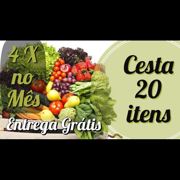 Plano Mensal 20 Itens ( 4 Cestas no Mês)