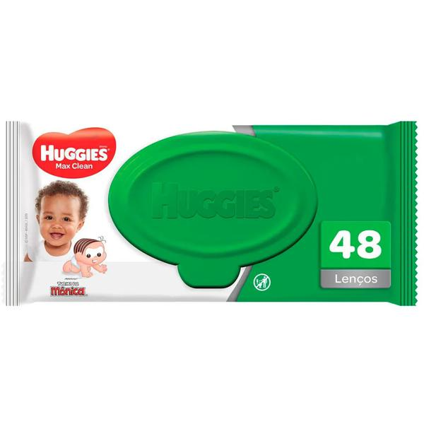 Lenços Umedecidos HUGGIES Classic c/ 48un
