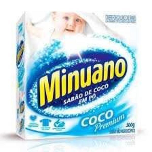Sabão em Pó MINUANO Coco 500g